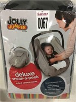 JOLLY JUMPER INFANT CARSEAT COVER