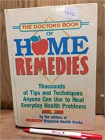 BOOK - HOME REMEDIES