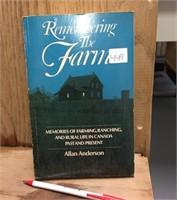 BOOK - REMEMBERING THE FARM