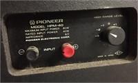 PIONEER SPEAKER - MODEL HPM-40