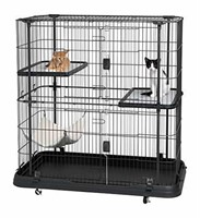 Prevue Pet Products 7501 Deluxe Cat Home with 3
