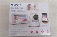 VTech VM991 Expandable HD Video Baby Monitor with