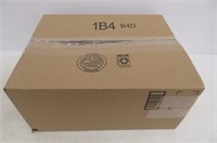 "Box of (40) L/XL Black Mesh Dog Harnesses, 16-26"""