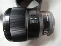 Sony FE 85mm f/1.8 Medium Telephoto Portrait Prim
