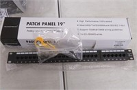 Monoprice 107253 110 Type 24-Port Cat6 Patch Panel