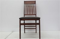 """""""As Is"""" Wooden Folding Chair"""
