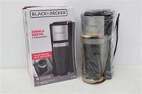 BLACK+DECKER Single Serve Coffee Maker, Includes