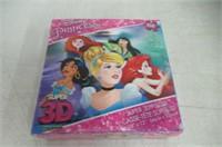 Disney Princess Super 3D Puzzle 150 Pieces