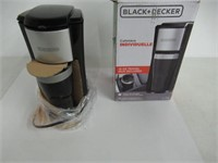 """Used"" BLACK+DECKER Single Serve Coffee Maker, Bla"