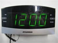 Sylvania Alarm Clock with Bluetooth
