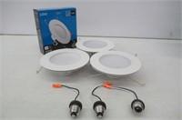 (3) Hyperikon 6 Inch LED Downlight (5 Inch