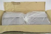 Vegware VHD-08 Hinged Deli Container, 8 oz, PLA