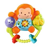 vtech Baby Lil Critters Singin Monkey Rattle