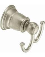 Moen YB5403PB Kingsley Double Robe Hook, Polished