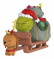 Dr. Seuss - The Grinch & Max on Sled
