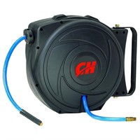 """""""As Is"""" Air Hose Reel with Retractable 50' Hose"""