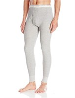 Fruit of The Loom Men's Large Thermals, Grey