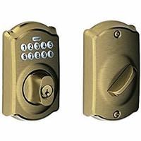 Schlage BE365 CAM Camelot Keypad Deadbolt -