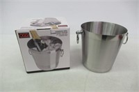 Oggi 7041.0 Stainless Steel Champagne Bucket,