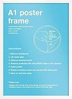 GB eye FMA1A1WH A1 Wooden Poster Frame 59.4 X
