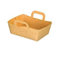 PacknWood 500-Pk Kraft Mini Take-Out Basket,