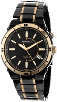 """As Is"" Seiko Mens SKA366 Stainless Steel Two-Tone"