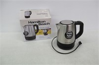 Hamilton-Beach 40998C 1L Stainless Steel Electric