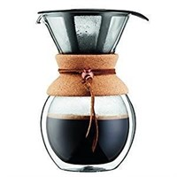 Bodum 11682-109 8 Cup Double Wall Pour Over Coffee