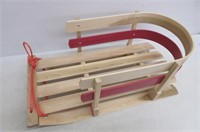 """""""As Is"""" Paricon Flexible Flyer Wooden Baby Sleigh"""