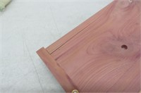 """""""As Is"""" Moneysworth & Best 10 Piece Premium Cedar"""