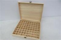 Essential Oil Wooden Storage Box, 32/74