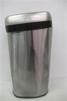 """""""As Is"""" Touchless Large Stainless Garbage Can"""