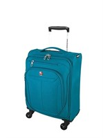 Swiss Gear Marumo Carry-On Luggage 19-Inch, Teal,