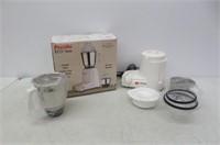 Preethi Eco Twin 2-Jar Mixer Grinder, 110-volt