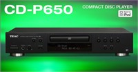 TEAC CD-P650 CD and USB Recorder with Remote