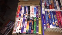 2- Boxes Of VHS Movies- Disney/ Kids