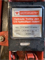 Mastercraft 1 1/2 Ton Hydraulic Floor Jack