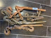 HD Lot of Chain Binders