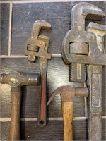 Pipe Wrenches and Misc. Tools