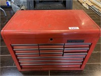 Mastercraft 12 Drawer Tool Chest/Contents