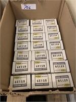 "21 Boxes Fits Fast 6 X 1 5/8"" Coarse Screws"