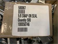 """Box 5/8"""" Banding Snap on Seals"""