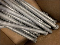 "Lot 1/2"" x 8"" Bolts"