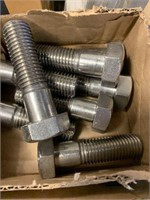 Lot of Many Stainless Steel Bolts