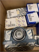 Large Lot of Pillow Block and Other Bearings