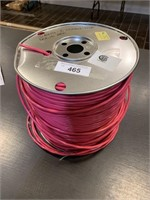 Large Spool 16AWG-2 Connector Solid Red Wire