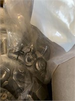 Large Box of Stainless Steel Hardware
