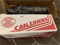 Can Liners Plastic Sheeting