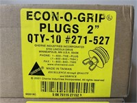 "Lot-Econogrip 2"" Industrial Plugs"