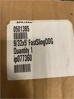 HD 9/32 x 5' Fast Sling Hoist Slings